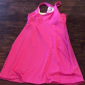 Pink fitness dress
